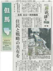 日本海新聞20170120
